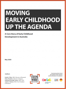 Moving Early Childhood up the Agenda